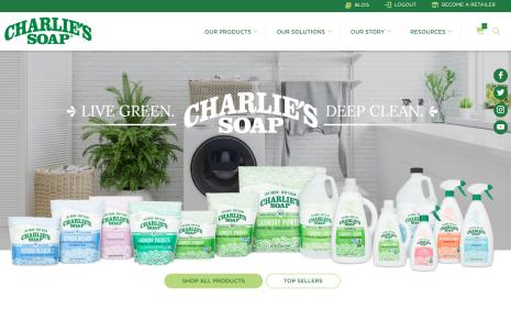 new charlie's website